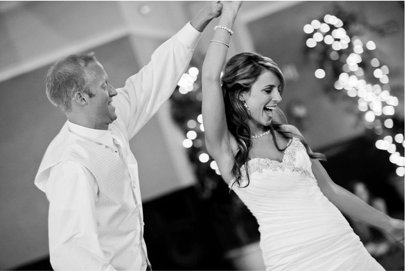 Wedding Dance Requires Practice