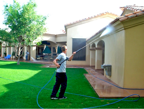 7 Benefits Of High Pressure Cleaning With Hot Water