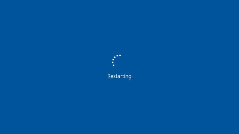 Windows 10 Stuck in Restart