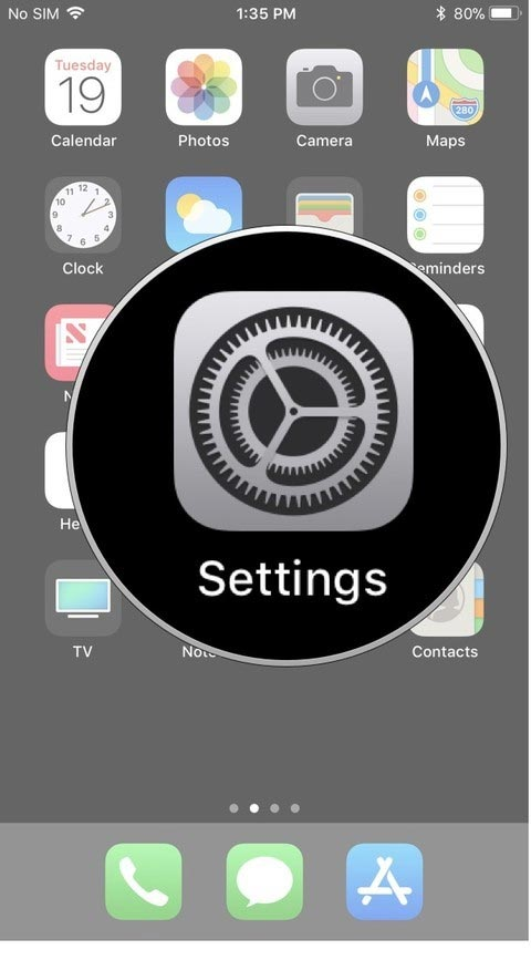 delete iphone apps from settings