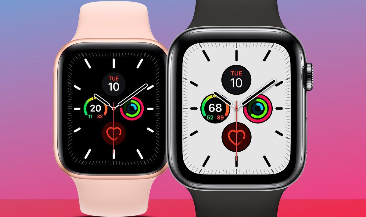 apple watch 4 vs 5