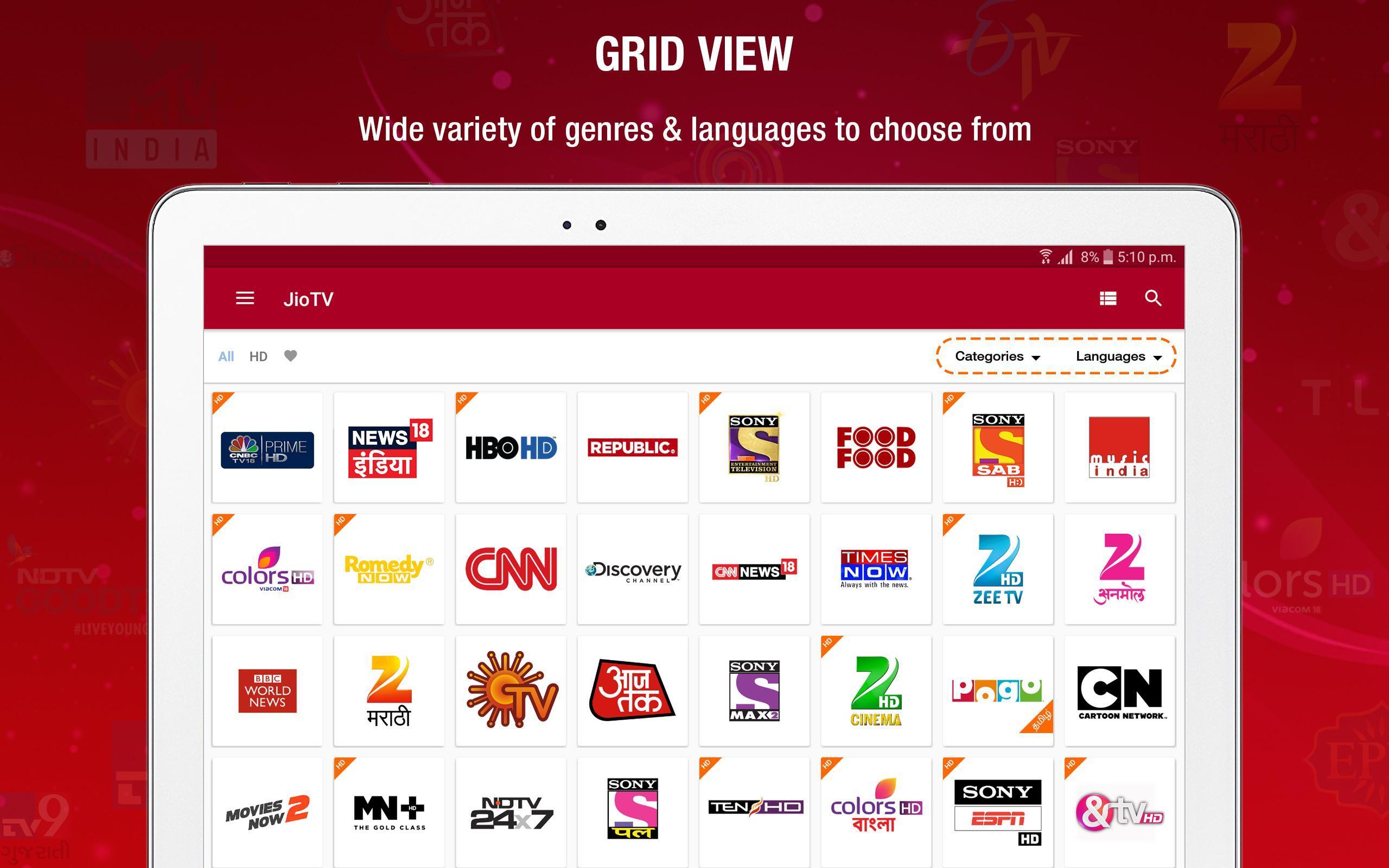 jio tv app download