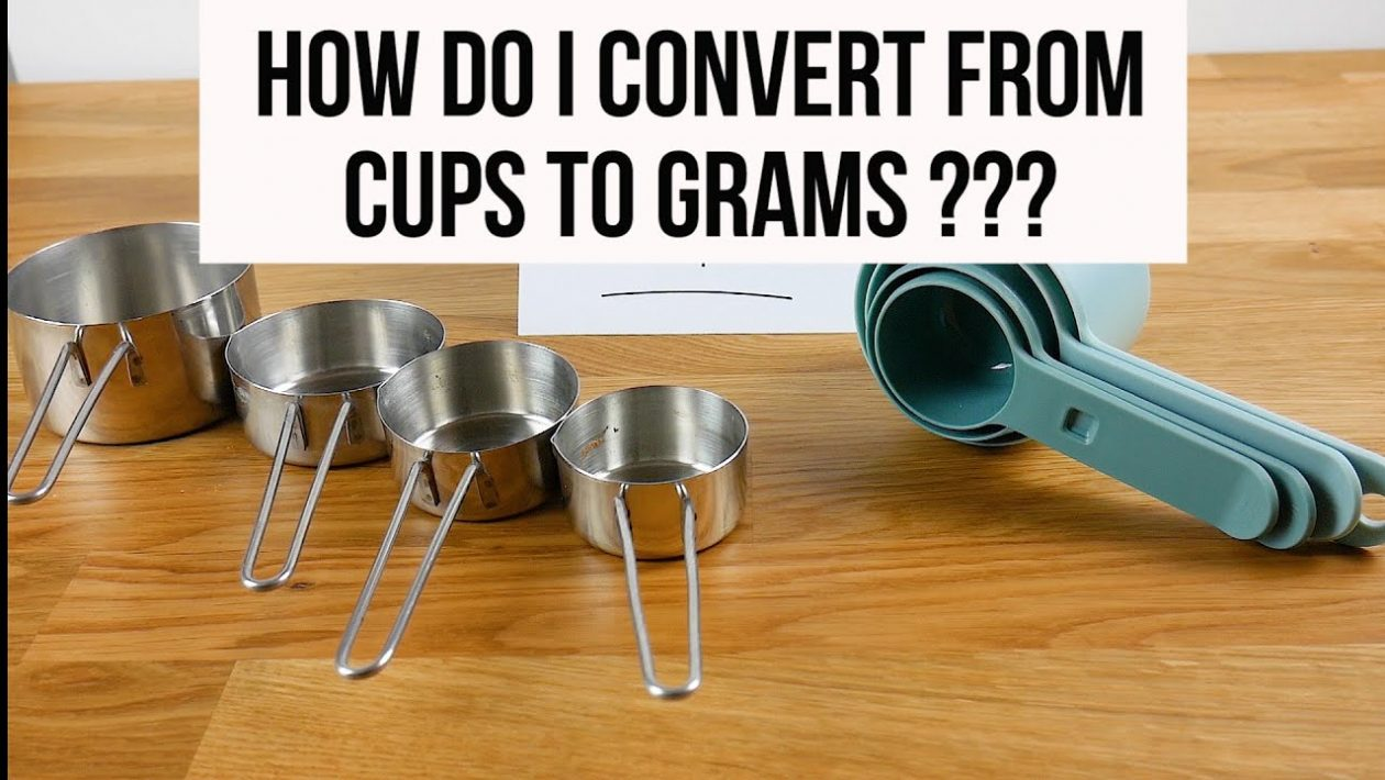 1 cup to grams