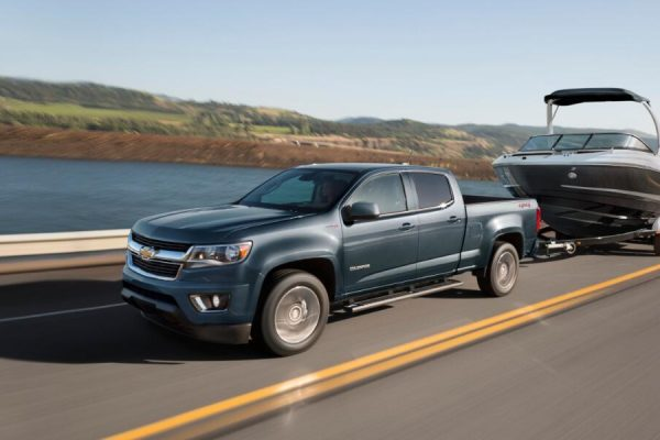 chevy colorado towing capacity