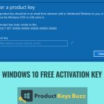 Windows 10 Product key Free